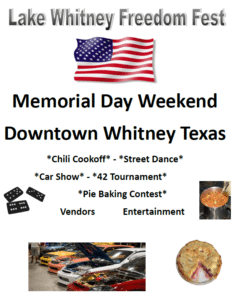 Lake Whitney Freedom Fest