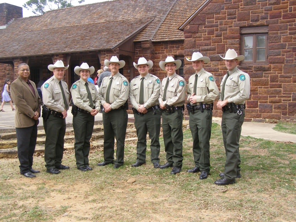 Lake Whitney's Stucker Receives Commission as a State Park Police